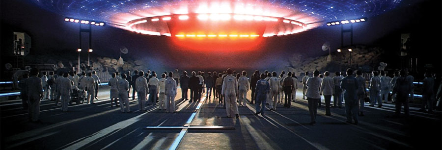 UFO in Close Encounters of the Third Kind